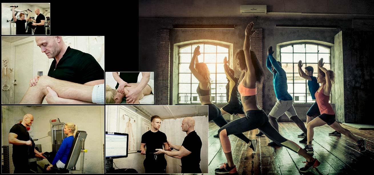 Sports, fitness fysioterapi